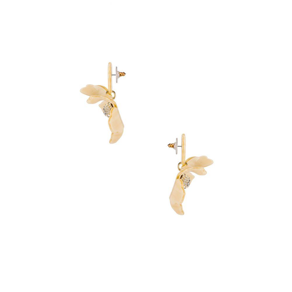 レディース Small Crystal Lily Earrings