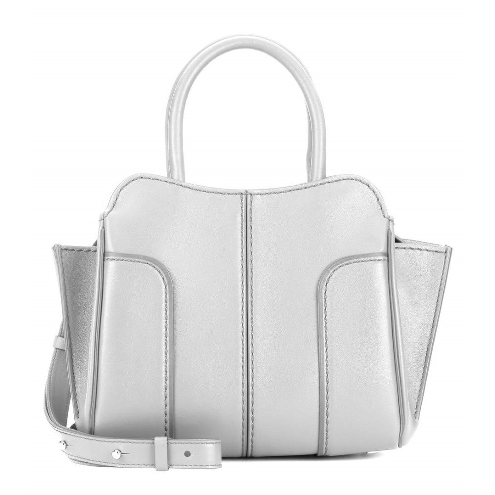 Tod's(トッズ)- 【Sella Mini leather shoulder bag】Grigio