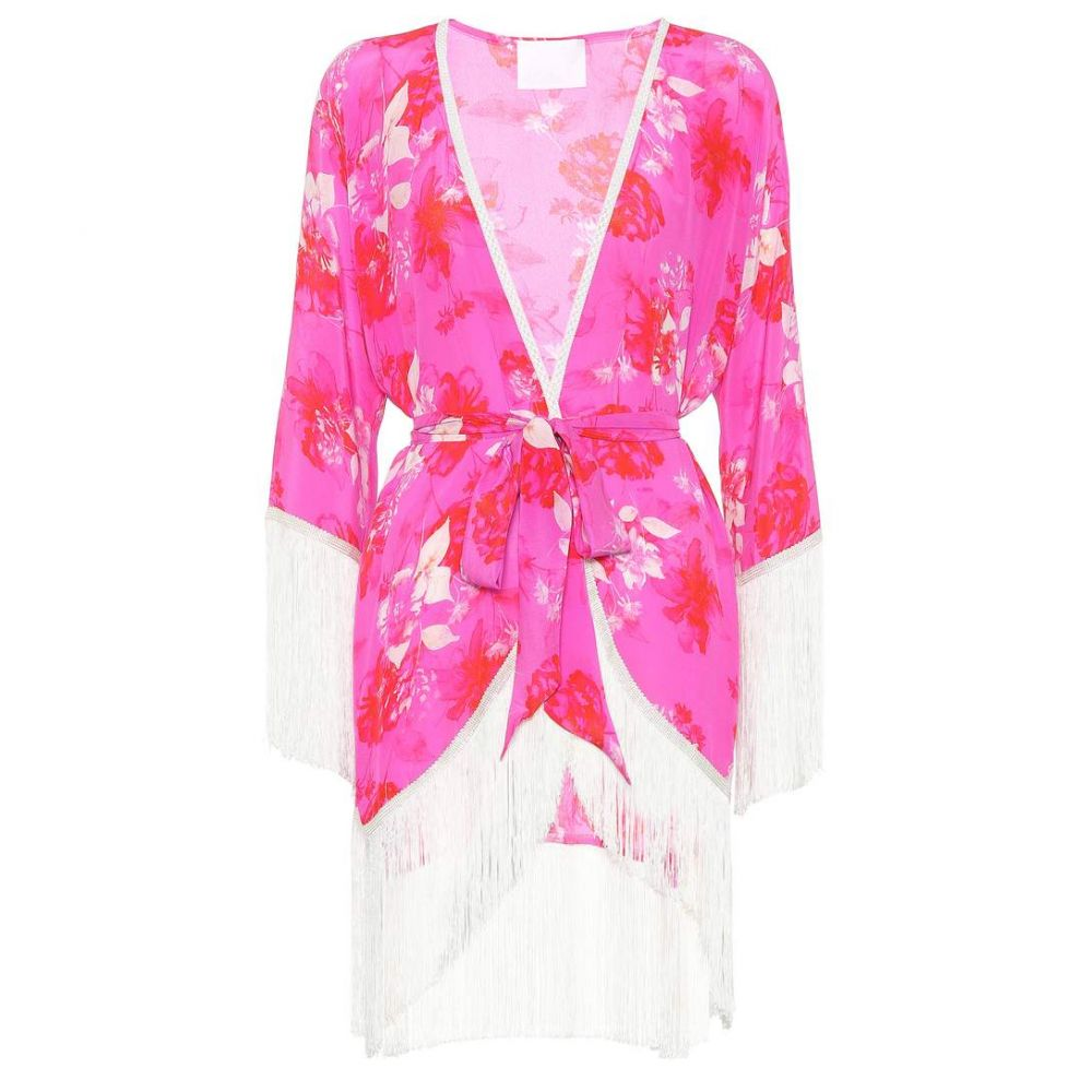 0e1f948f14d2 ... 水着・ビーチウェア ビーチウェア【Sundown Breeze floral silk kimono】 アテナ プロコポー レディース  水着・ビーチウェア ビーチウェア 【サイズ交換無料】
