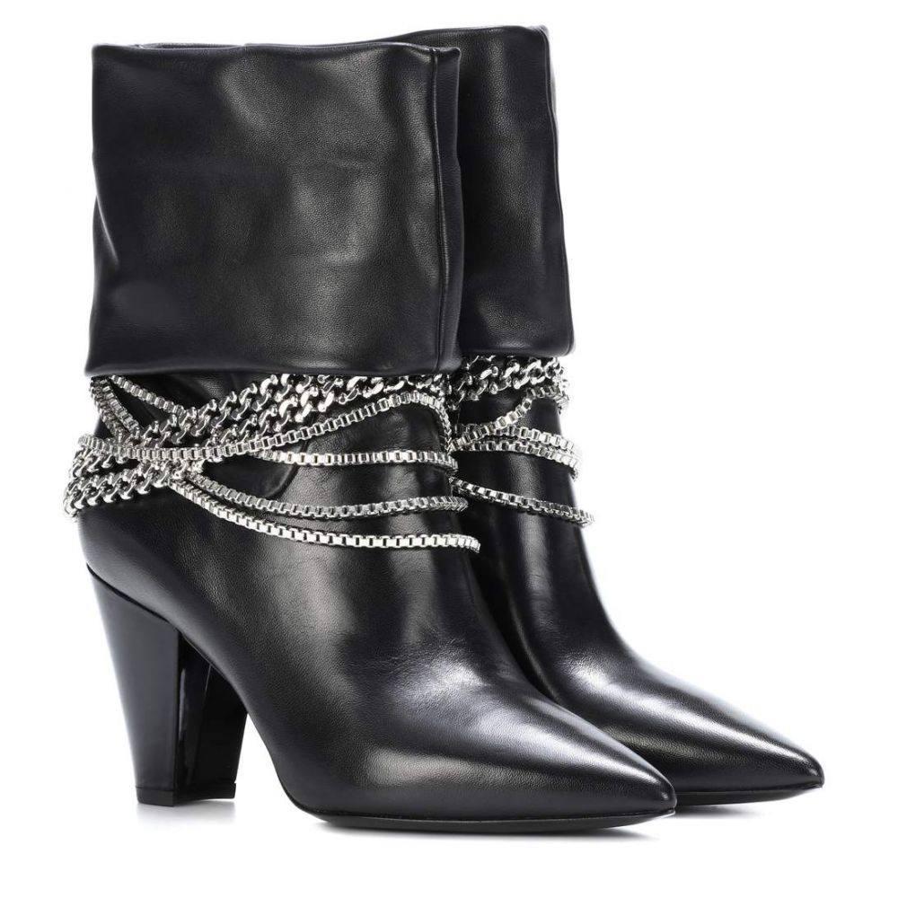 セルフ ポートレイト レディース シューズ・靴 ブーツ【Sadie leather ankle boots】Black セルフ ポートレイト  レディース シューズ・靴 ブーツ 【サイズ交換無料】