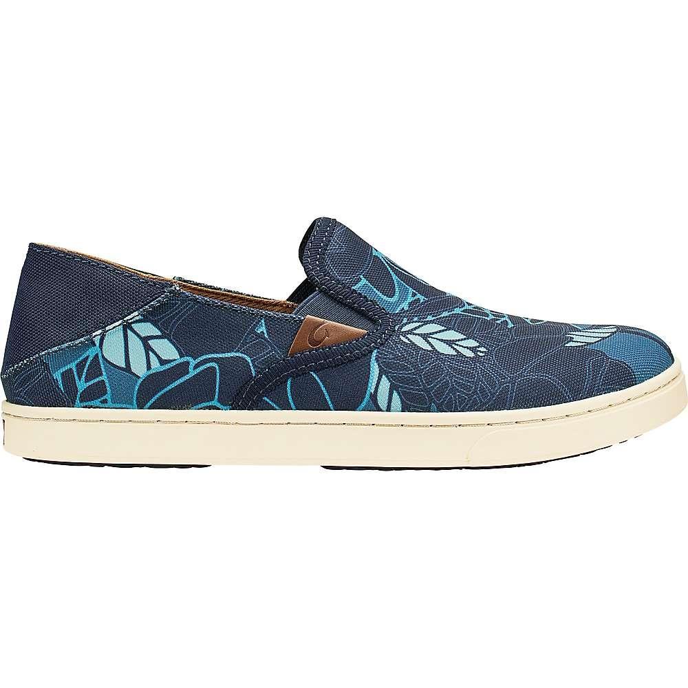 ca0fae0d3552 オルカイ レディース シューズ·靴【Olukai Pehuea Shoe】Trench Blue / Stormy Blue Print オルカイ  レディース シューズ·靴 その他シューズ Trench Blue / Stormy ...