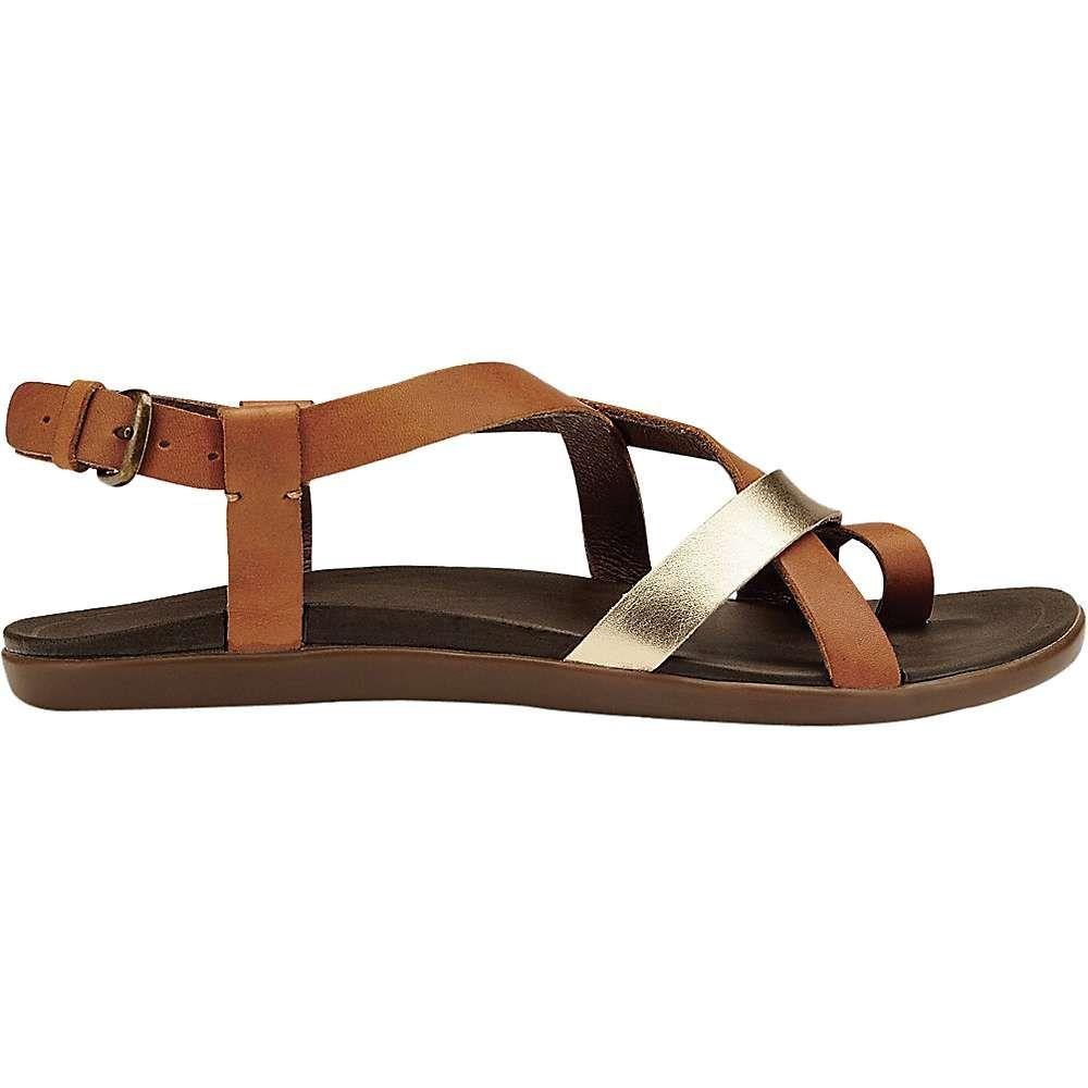 オルカイ 【OluKai Olani | 】 靴 レディース Tan Natural スニーカー シューズ