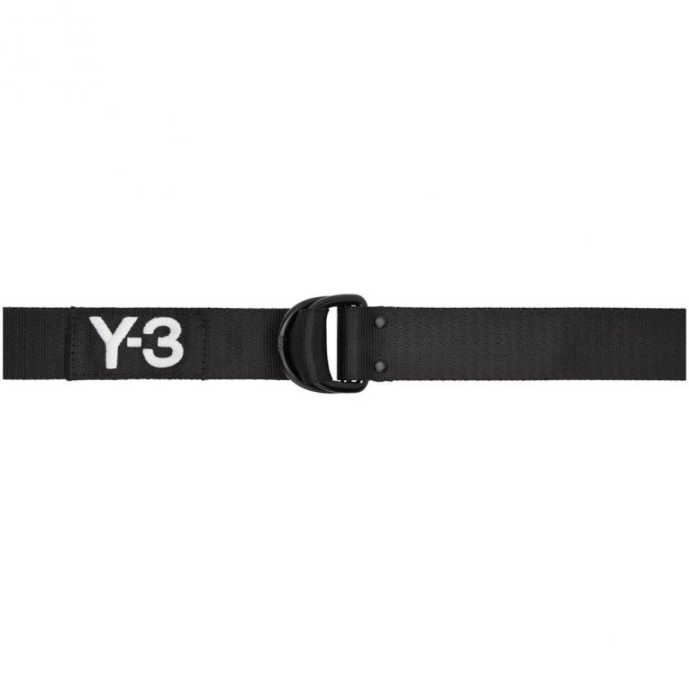 f4fd5865516a ワイスリー メンズ ベルト【Black Logo Belt】 ワイスリー メンズ ファッション小物 ベルト 【サイズ交換無料】