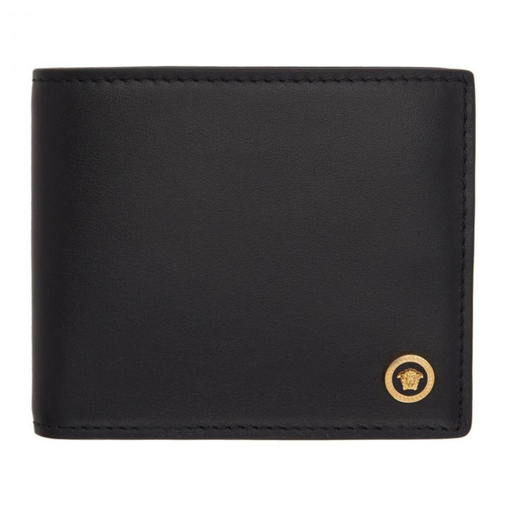 5d4b15f893e4 ヴェルサーチ Versace メンズ 財布【Black Medusa Bifold Wallet】 ヴェルサーチ メンズ 財布·時計·雑貨 財布  【サイズ交換無料】