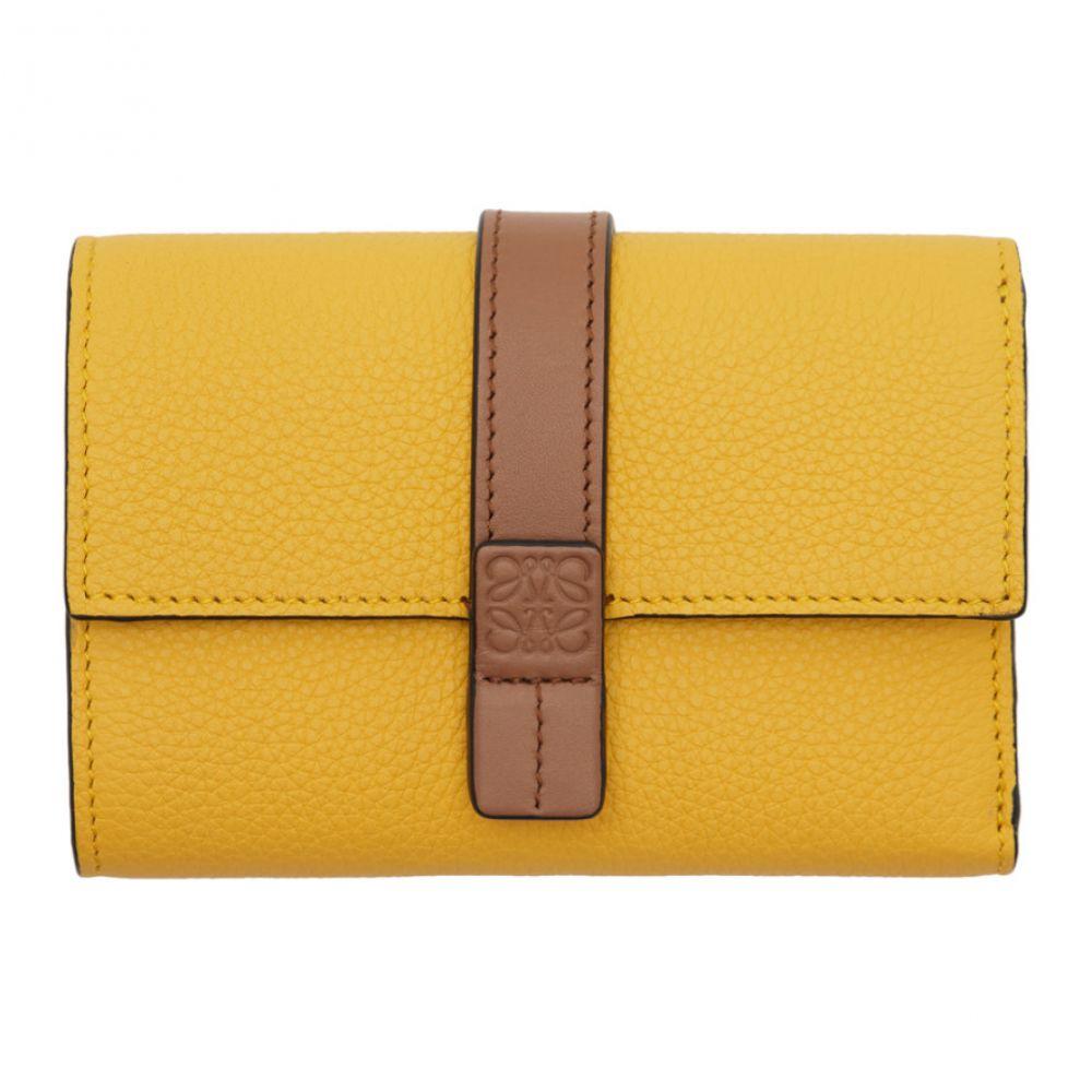 dbb5eb795bb7 ロエベ Loewe メンズ 財布【Yellow & Brown Small Vertical Wallet】 ロエベ メンズ 財布·時計·雑貨 財布  【サイズ交換無料】