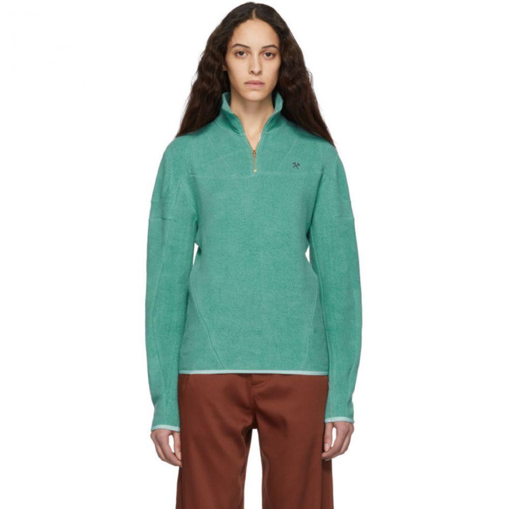eef274edcbc79 ゲーエムベーハー GmbH レディース トップス【Green Organic Moses Sweater】