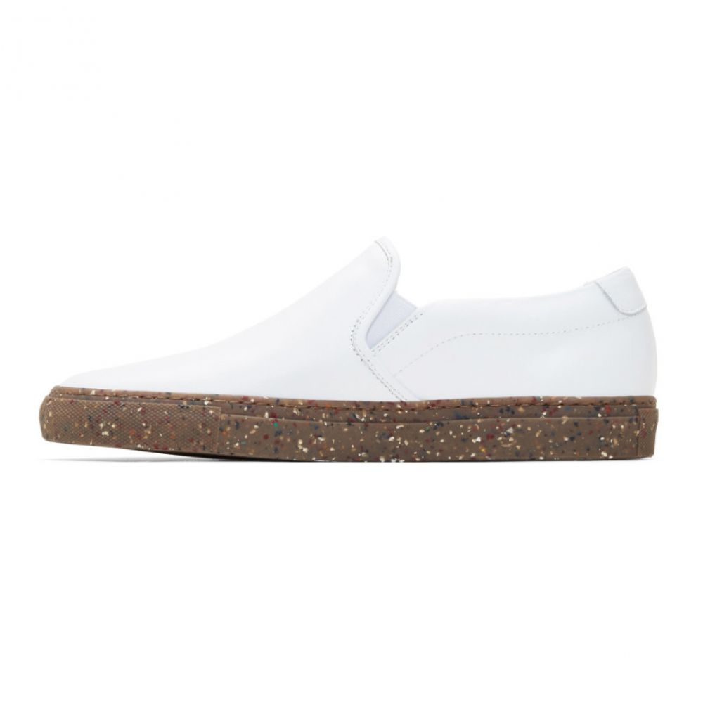 シューズ・靴 コモン プロジェクト Sneakers】 スリッポン・フラット【white メンズ Projects