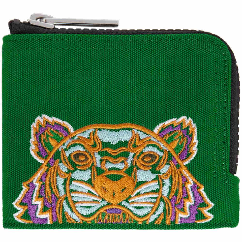 e18f46e7effe ケンゾー メンズ 財布【Green Tiger Zip Around Wallet】 ケンゾー メンズ 財布・時計・雑貨 財布 【サイズ交換無料】
