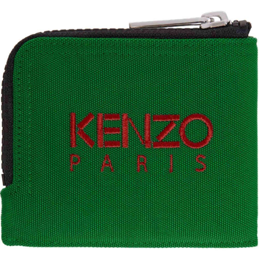 34729b882aec ケンゾー メンズ 財布【Green Tiger Zip Around Wallet オンライン ...