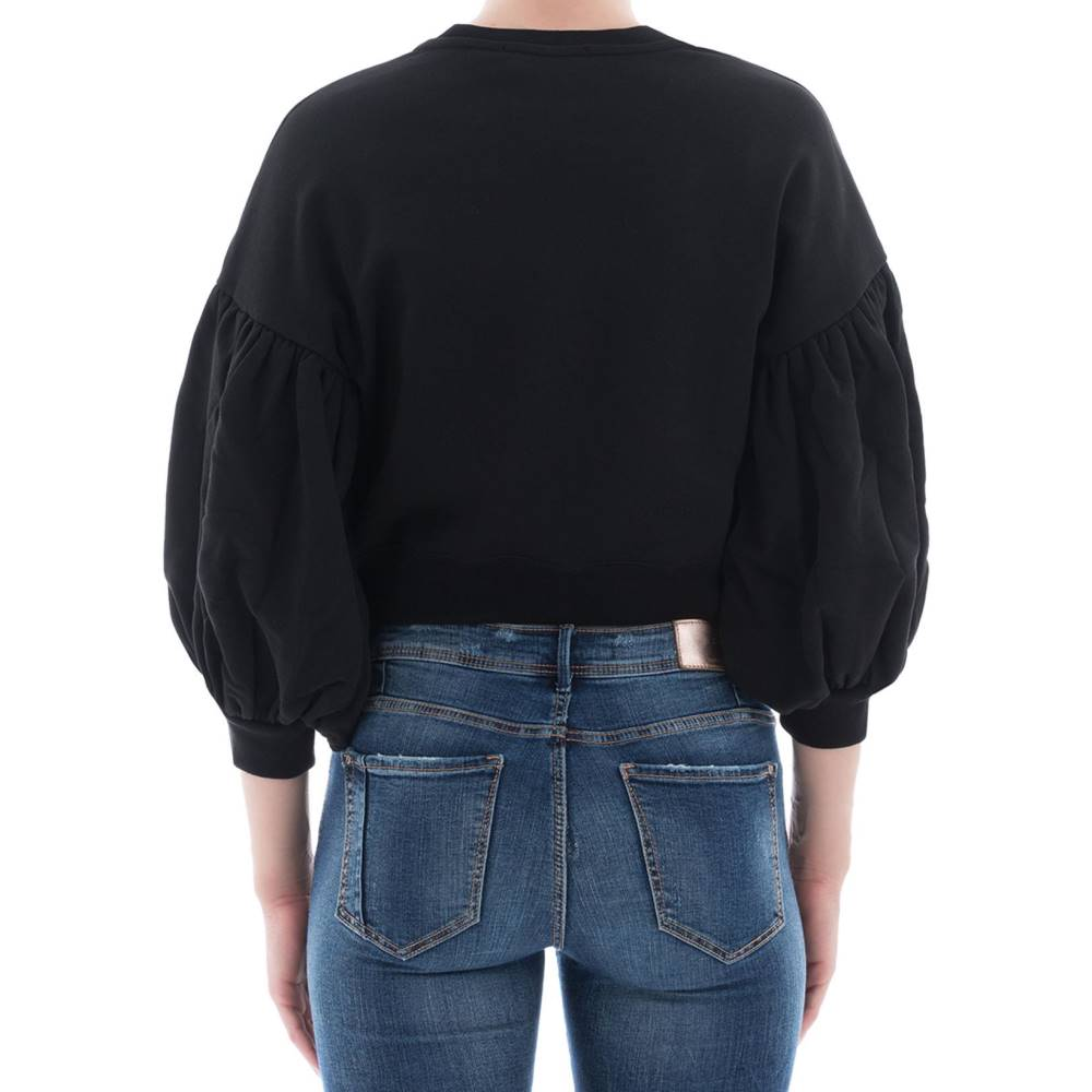 Iheart pullover knit CASHMERE BLU GLITTER TG S 36