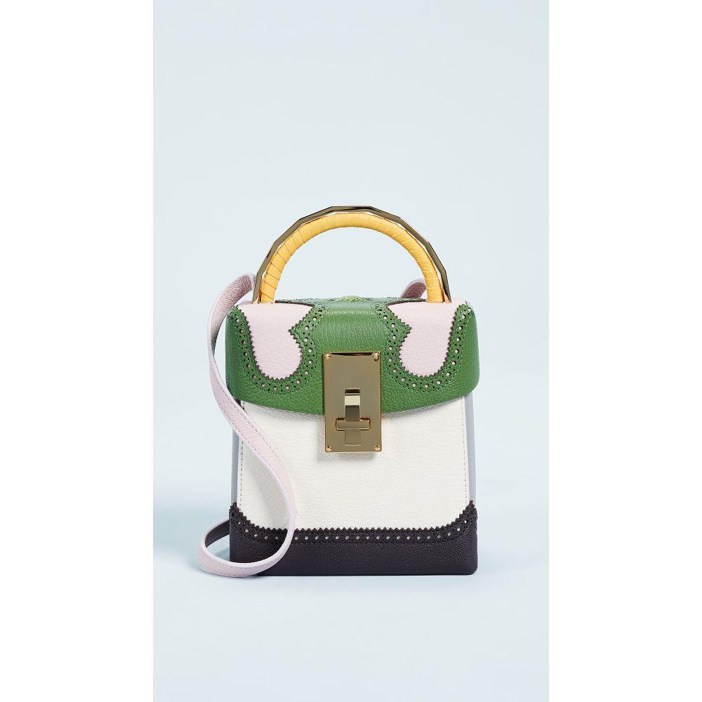 7d241be4928c ザ ヴォロン レディース バッグ【Alice Box Bag】Green/Pink ザ ヴォロン レディース バッグ その他バッグ 【サイズ交換無料】