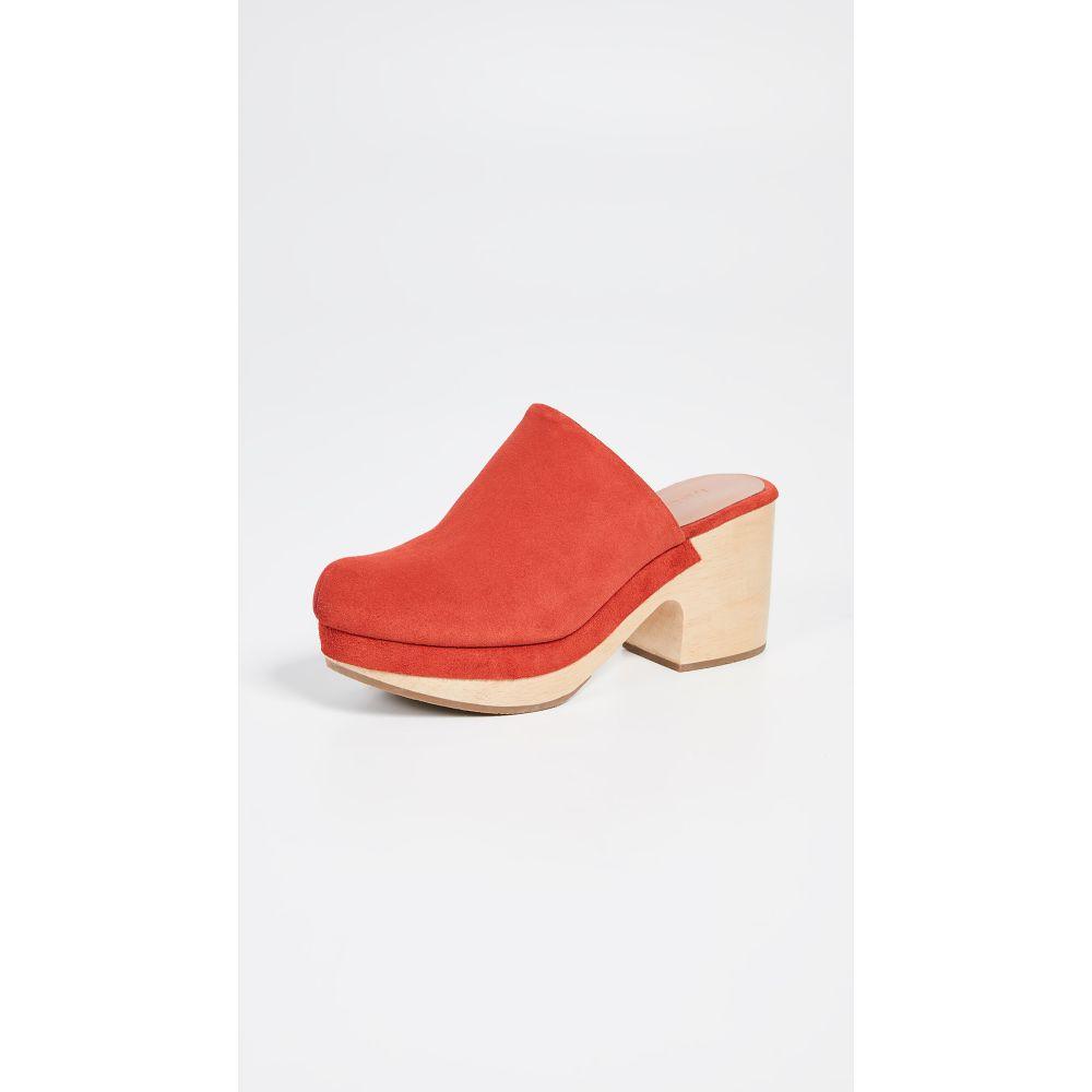 af8f79ac0bbd レイチェル コーミー Rachel Comey レディース シューズ·靴 クロッグ【Bose Low Clog】Red レイチェル コーミー レディース  シューズ·靴 クロッグ 【サイズ交換無料】