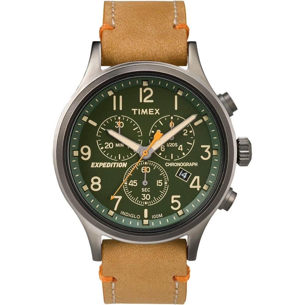 336c7be984 タイメックス Timex メンズ オンライン アクセサリー 腕時計【Expedition Scout Chrono Watch】Tan  Strap/Green Dial:フェルマート タイメックス メンズ アクセサリー ...