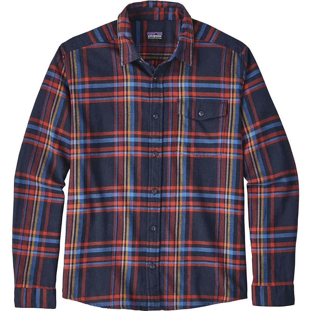 パタゴニア メンズ トップス【Lightweight Fjord Flannel Shirts】Watershed/Navy Blue