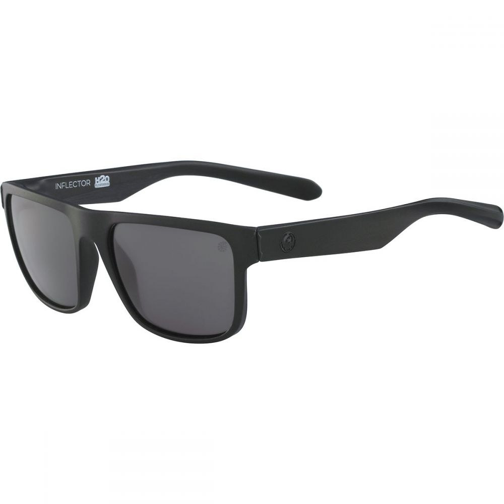 New DRAGON Matte Black INFLECTOR 002 Sunglasses with Smoke Lenses