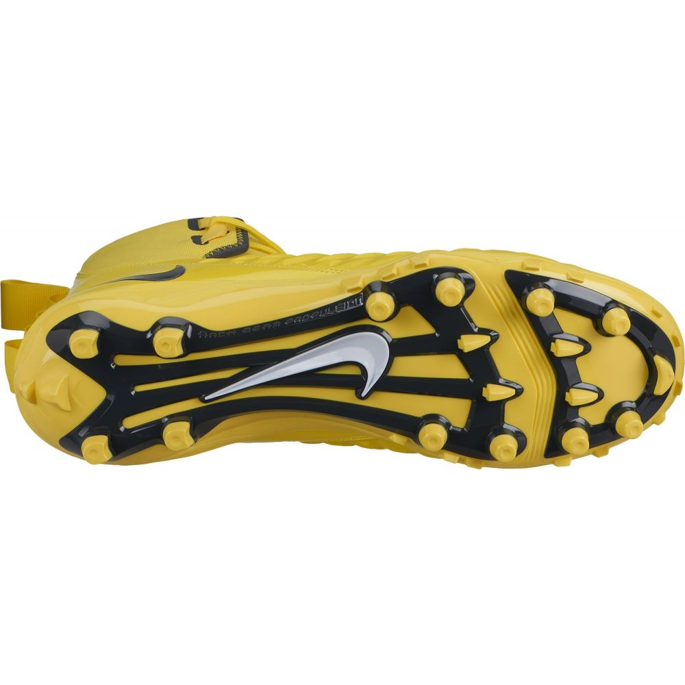 NEW Nike Force Savage Varsity Mens High Top Football Cleats Yellow 11 11.5 12