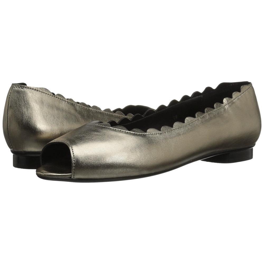 cf288c880c3af8 ヴァネリ レディース シューズ・靴 スリッポン・フラット【Arty】Pewter Metallic Nappa 機能的な収納で人気