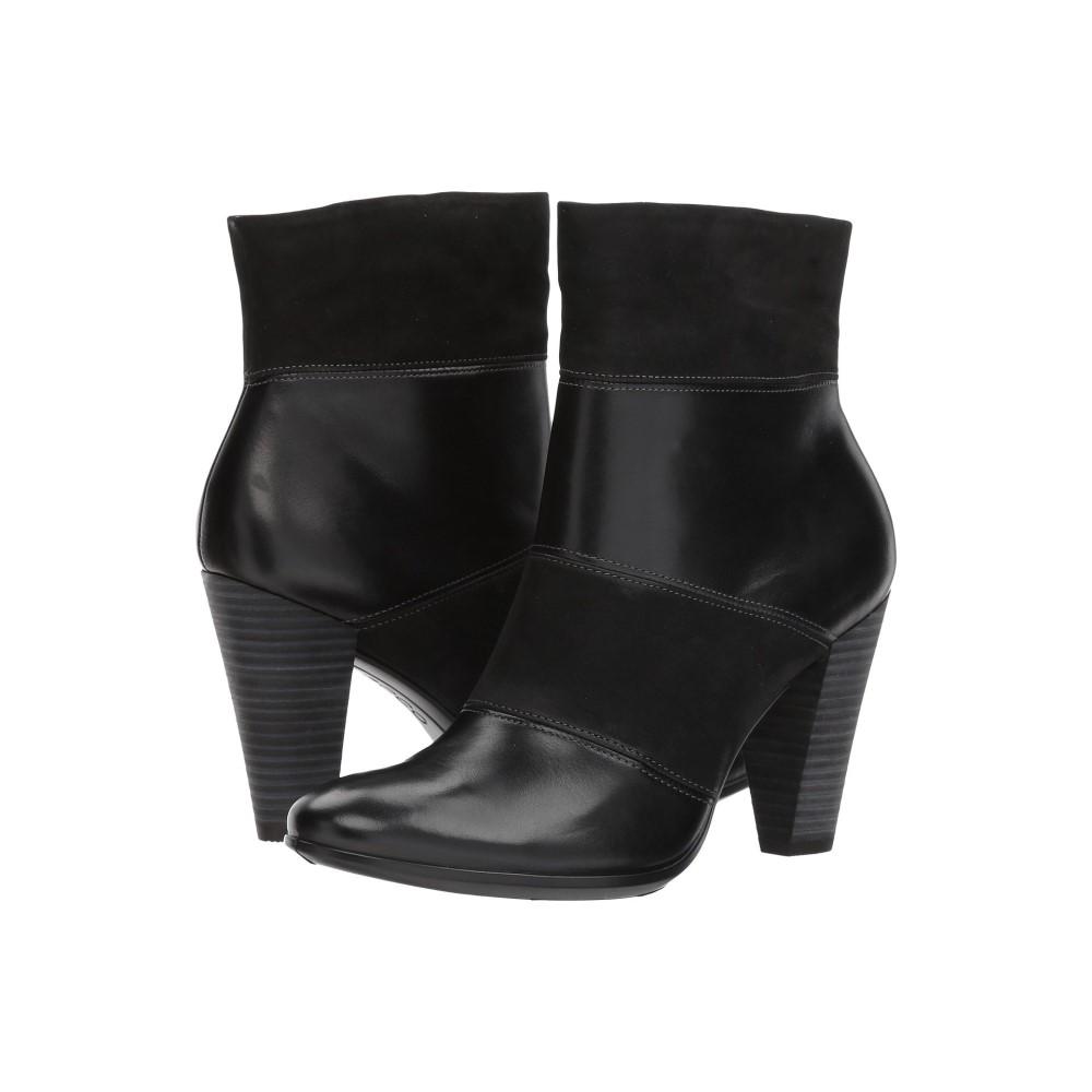 54bc05729511 エコー レディース シューズ・靴 ブーツ【Shape 75 Modern Boot】Black/Black