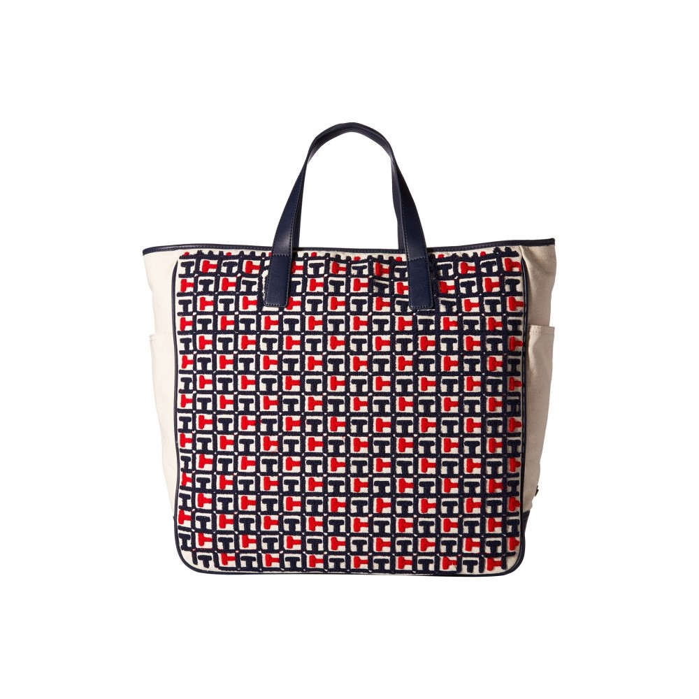 d0585462fef1 トミー ヒルフィガー レディース バッグ トートバッグ【Emily Terry Tote】Navy/Red トミー ヒルフィガー レディース バッグ  トートバッグ Navy/Red 【サイズ交換 ...