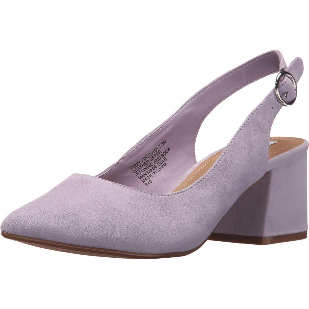 fd89900a33f スティーブ マデン Steve Madden レディース シューズ・靴 サンダル・ミュール Dizzy Slingback Block Heeled  Sandal Lavender Suede