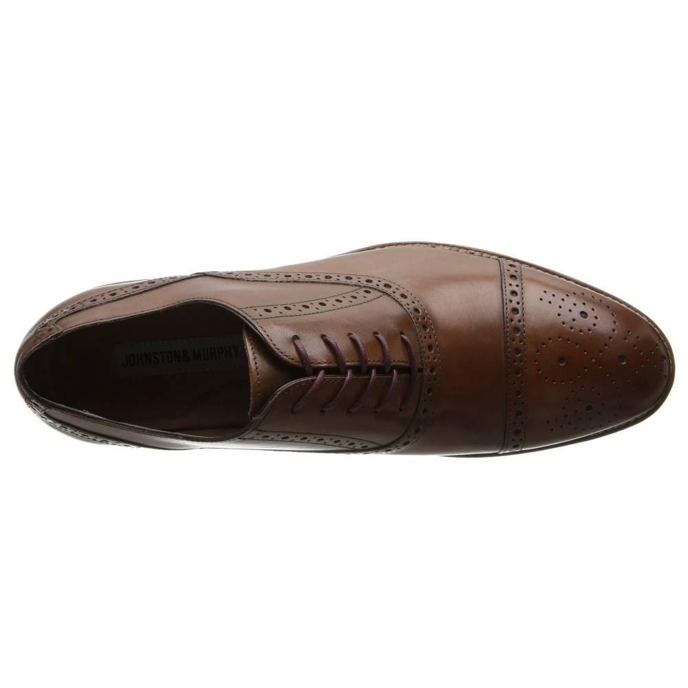 ジョンストン Amp マーフィー メンズ シューズ・靴 革靴・ビジネスシューズ【conard Cap Toe】tan