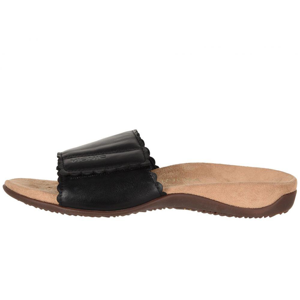 efe1d477c947 バイオニック レディース Black シューズ・靴 サンダル・ミュール ...