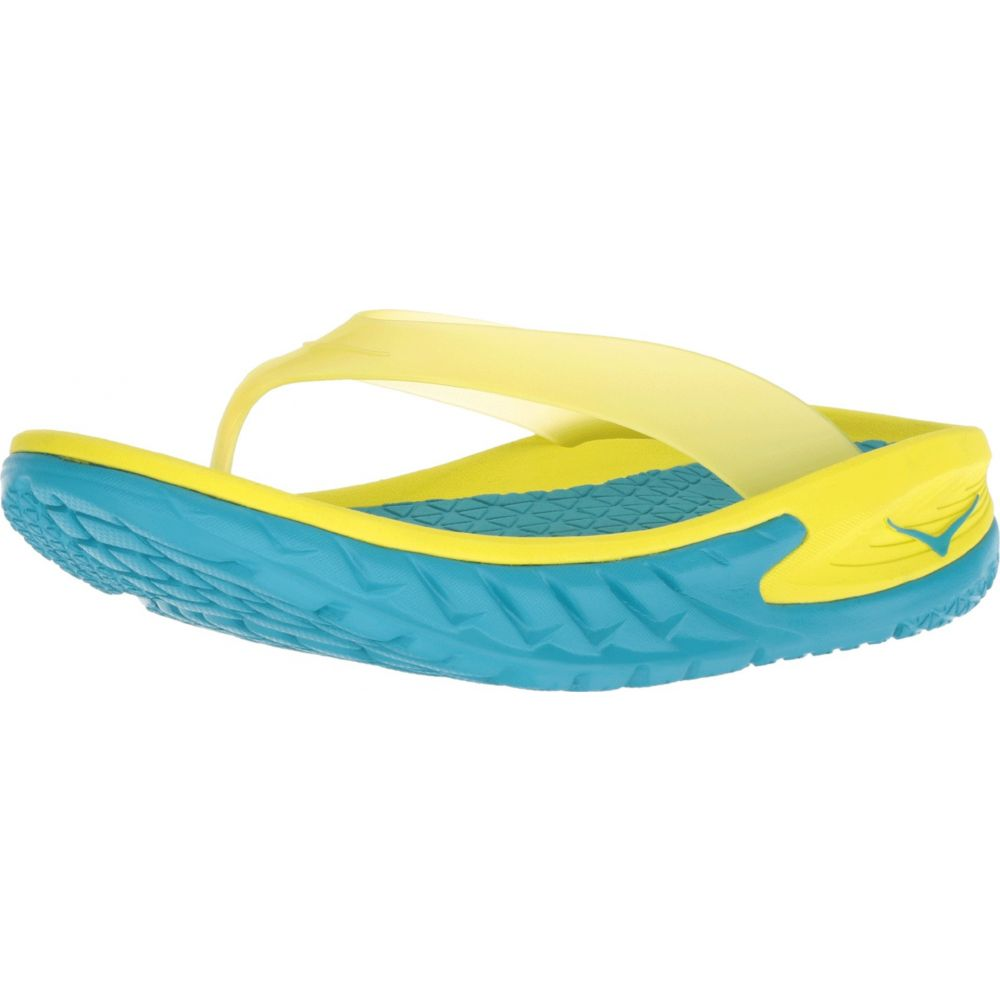Hoka One Mens Fashion Sandals Caribbean Sea//Primrose