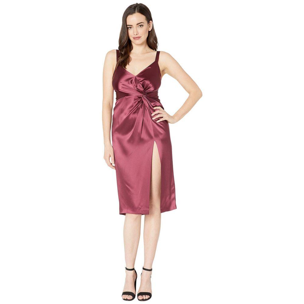 d642cbb19d11b ジル スチュアート JILL JILL STUART レディース ワンピース·ドレス パーティードレス Satin Cocktail Dress  with Twist Detail Currant ジル スチュアート ...