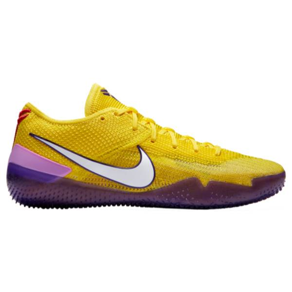 10.5, Black//Pink NXT 360 Basketball Shoes Nike Mens Kobe A.D