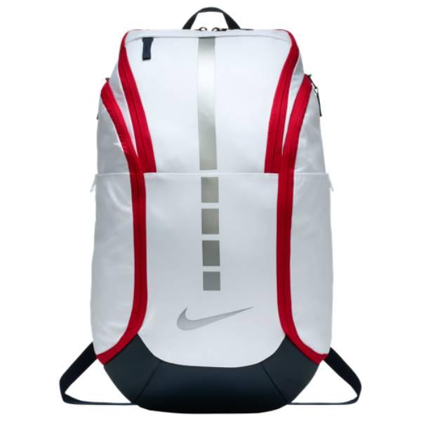 3f7444780709 ナイキ ユニセックス バッグ バックパック·リュック【Hoops Elite Pro Backpack】White/Obsidian/Metallic  Cool Grey ナイキ ユニセックス バッグ バックパック· ...