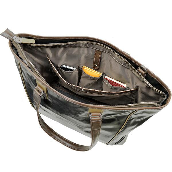 hamilton バイカラートートバッグ b4f 37cm #53405 仕様1