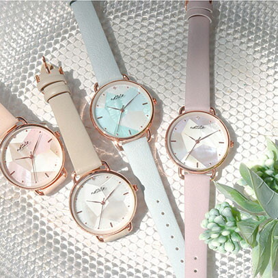 可愛め、キレイめな時計