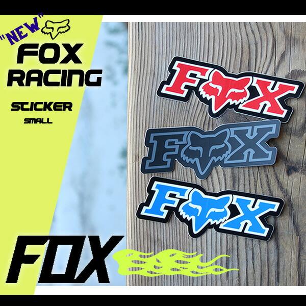 FOXのステッカー