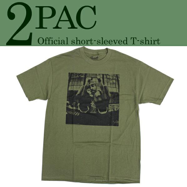 2PAC半袖Tシャツ