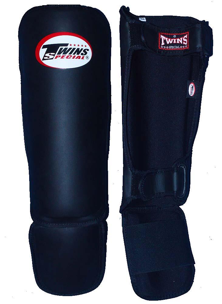 TWINS製 軽量レッグガード SGL 3 赤 S、M、L/レッグプロテクター、キックボクシング、空手 ファイトギア EX 楽天市場店