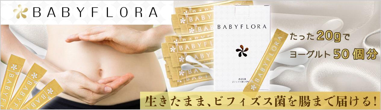 森永乳業 ベイビーフローラ  Baby Flora