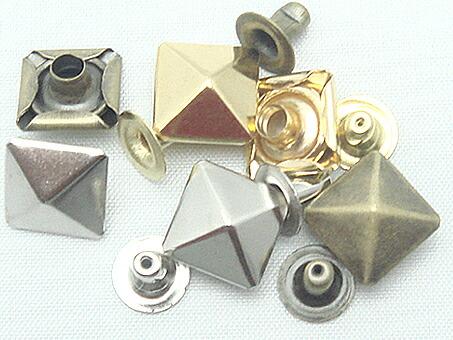 飾りカシメ 角ピラミッド