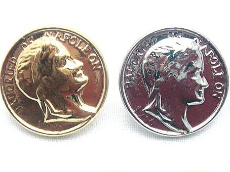 飾りカシメ コイン