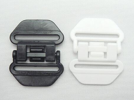 日本製 hanaオリジナルセーフティーバックル A23300 バックル/プラスチック バックル/ワンタッチ バックル/首輪 バックル/セーフティー/4