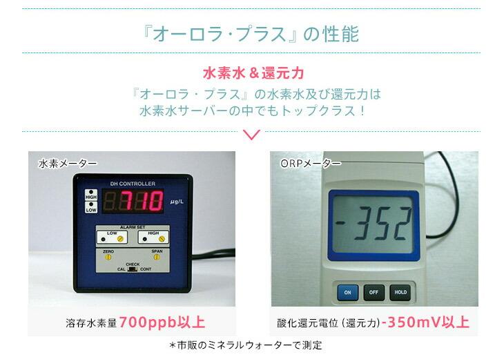 家庭用水素水サーバー|Aurora plus[オーロラプラス|水の安全テスト