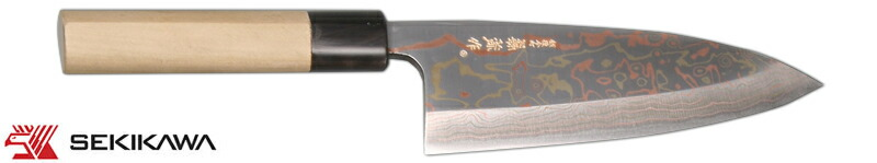 HD-1055K 『煌王』 出刃庖丁 有色積層鋼