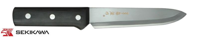 HK-2008 間切庖丁 太柄 皮ケース付