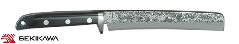 HK-2027 竹割鉈 両刃 鍔付