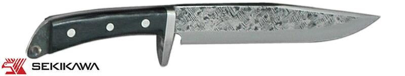 HK-2031 渓流鉈 両刃 本皮ケース入