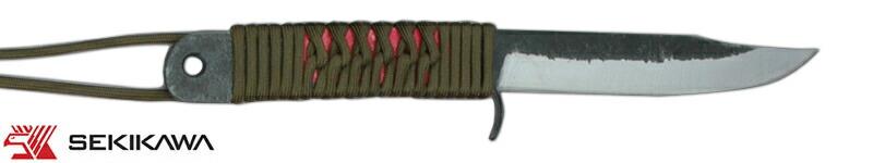 HK-2035 剣鉈 両刃 本皮ケース入
