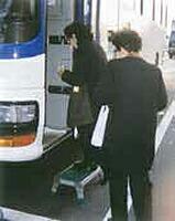 バス昇降画像