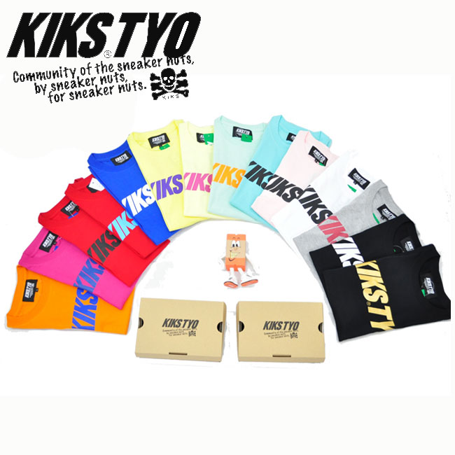 KIKS TYO/キックスティーワイオー/KIKS LOGO TEE/Tシャツ/KIKSTYO