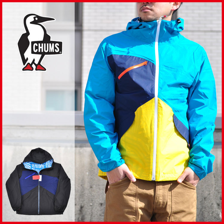 CHUMS/チャムス/Topaz 2.5L Rain Jacket/ナイロンジャケット/CH04-1000