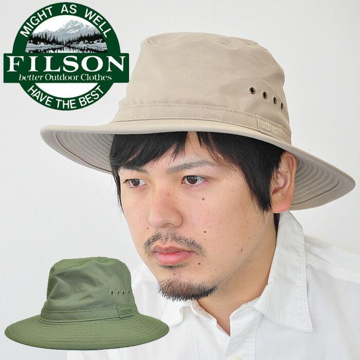 firstadium  Filson Filson hat Summer Packer Hat summer packer hat ... 7362e9dad4d
