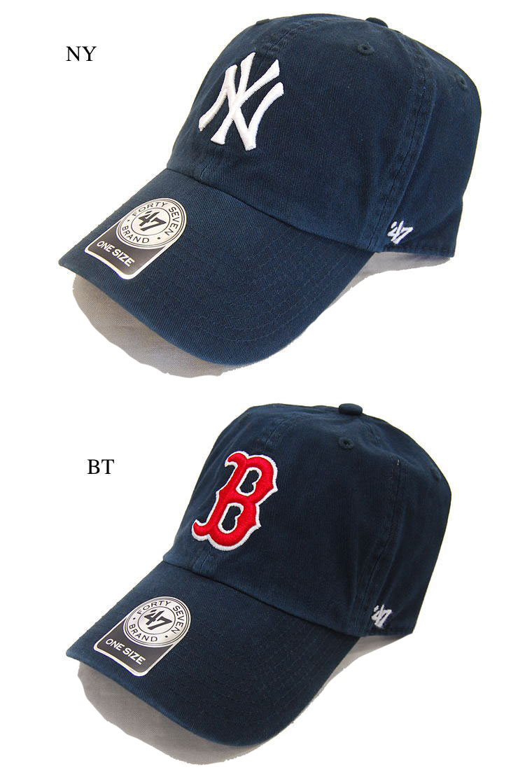 47 47 Brand brand Cap Yankees RED SOX CLEAN UP 47 CAPTAIN Hat RGW02GWS47  Brand 47 brand